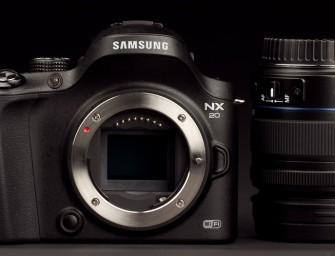 Samsung NX20 review