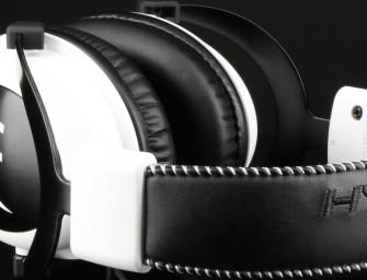 HyperX Cloud White Edition is de headset voor gamers