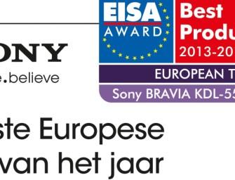 Sony ontvangt zes EISA Awards
