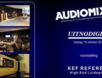 Nieuwe Kef Reference serie te beluisteren bij Audiomix