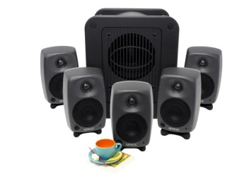 Genelec 8020C + 7050B desktop monitoring review