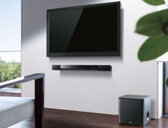 IFA 2014: Yamaha presenteert de soundbar Yamaha YAS-203 en de tv-soundbooster NX-B150