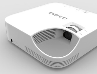 Casio XJ-V1 is een duurzame laser-ledprojector