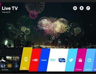 LG webOS 2.0 Smart TV platform