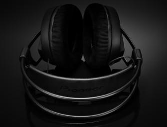 Pioneer HRM-7 introduceert een Studio Sound hoofdtelefoon