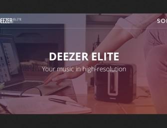 High definition streaming met Deezer