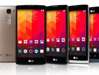 LG's nieuwe smartphone line-up voor het middensegment