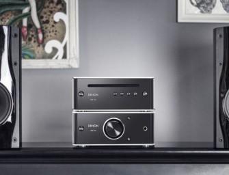 Denon DCD-50 CD-speler wordt de nieuwste uitbreiding voor hun designserie