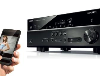 Yamaha RX-V479/579, nieuwste entertainment-centrales voor je thuisnetwerk.