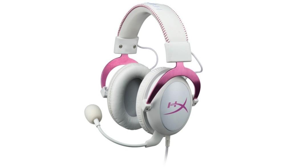 HyperX Cloud II Pink Headset