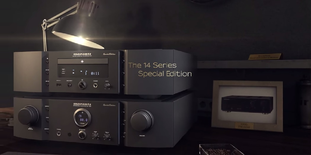 Marantz PM-14S1 and SA-14S1 Special Editions