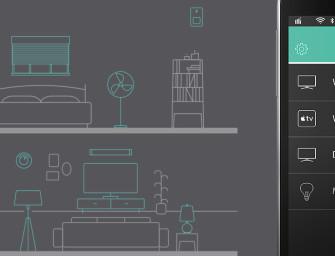 Logitech Harmony met meer controle over 'smart homes'