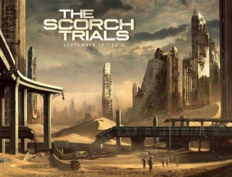 The Maze Runner Scorch Trials op drie schermen