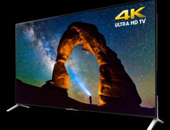 Sony introduceert 75 inch 4K Bravia televisie met Android TV