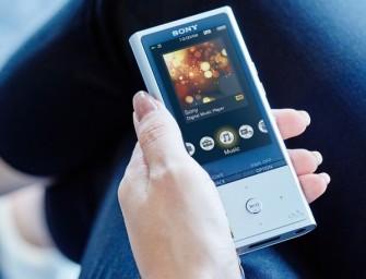 Sony introduceert de nieuwe Hi-Res NW-ZX100HN Walkman