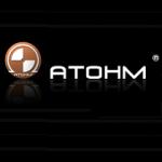 Atohm logo loudspeakers