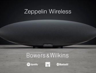Bowers & Wilkins presenteert volledig nieuwe Zeppelin Wireless