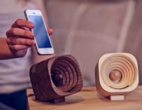 Trobla houten versterker
