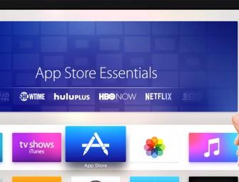 Apple TV heeft al meer dan 2600 apps