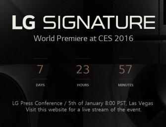 LG kondigt high end-lijn aan