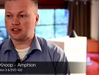 432 EVO & Amphion Krypton 3, een combinatie die muziek maakt (video)