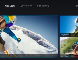 GoPro-kanaal beschikbaar via PlayStation
