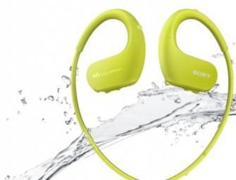 Sony introduceert watervaste walkmans WS413 en WS414