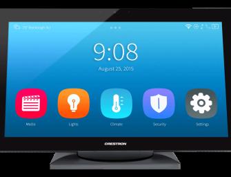 Crestron lanceert smart nieuwe home-monitor