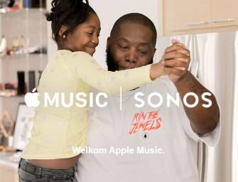 Apple Music beschikbaar voor Sonos