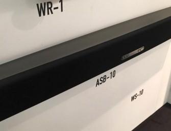 Nieuwe ASB-10 soundbar en WS-1 subwoofer van Monitor Audio