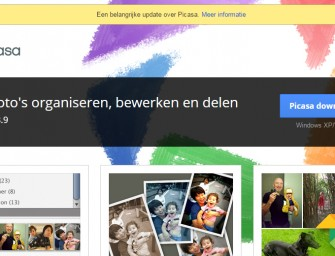 Google sluit Picasa
