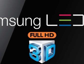 Stoppen Samsung en LG met 3D?