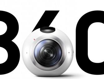 Samsung onthult Gear 360