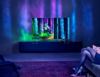 Philips Ambilux brengt aparte tv-ervaring