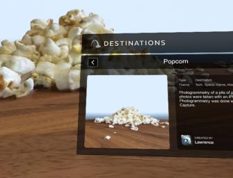 Met Valve's VR Destinations reis je overal naartoe