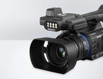 AG-AC30 is de nieuwe instap palm-camcorder van Panasonic