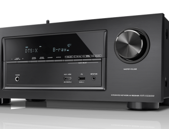 Denon AVR-X3300W, nieuwste receiver van de X-series familie