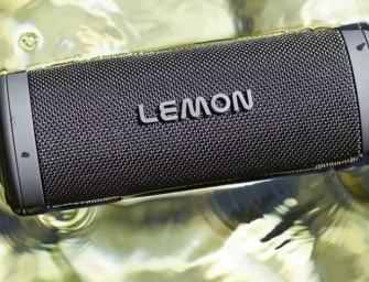 Lemon brengt duurzame speaker