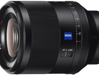 Sony lanceert FE 50 mm F1.4 ZA lens
