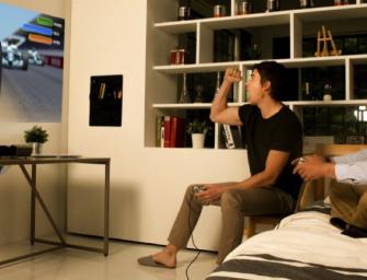 LG Minibeams projecteren op elk oppervlak