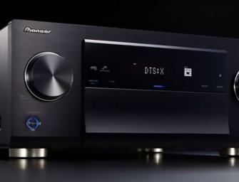 Pioneer introduceert 3 nieuwe AV-receivers