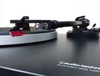 Audio Technica presenteert AT-LP5 platenspeler op X-fi