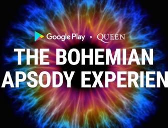 Google Play en Queen maken Bohemian Rhapsody Experience