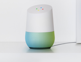 Google Home concurreert met Amazon Echo