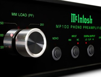McIntosh MP100 phono versterker