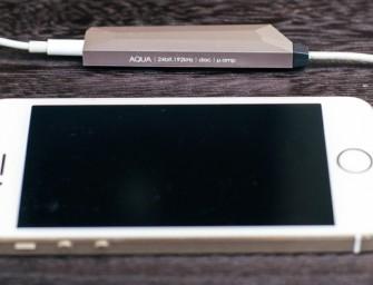 Nexum speelt in op iPhone 7 met AQUA DAC