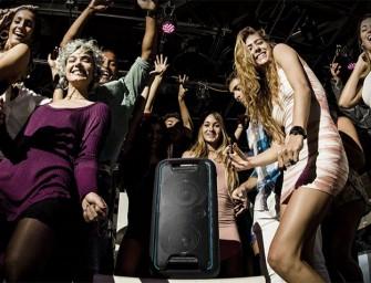 Nieuw Sony audiosysteem brengt je feest helemaal tot leven