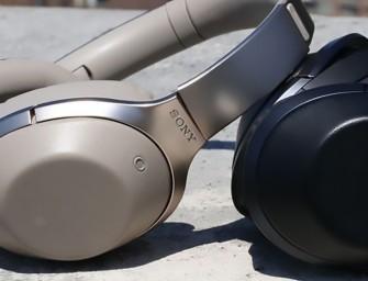Sony MDR-1000X bluetooth hoofdtelefoon