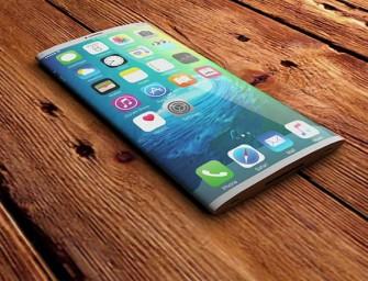 iPhone 8 krijgt mogelijk gebogen scherm