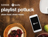 Sonos & Spotify Playlist Potluck